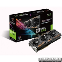 Asus PCI-Ex GeForce GTX 1060 ROG Strix 6GB GDDR5 (192bit) (1506/8008) (DVI, 2 x HDMI, 2 x DisplayPort) (STRIX-GTX1060-6G-GAMING)