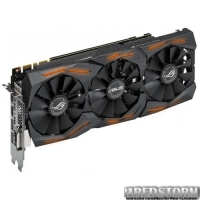 Asus PCI-Ex GeForce GTX 1080 ROG Strix 8GB GDDR5X (256bit) (1759/10000) (DVI, 2 x HDMI, 2 x DisplayPort) (STRIX-GTX1080-O8G-GAMING)