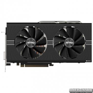 Видеокарта Sapphire PCI-Ex Radeon RX 580 Nitro+ 8GB GDDR5 (256bit) (1411/8000) (DVI, 2 x HDMI, 2 x DisplayPort) (11265-01-20G)