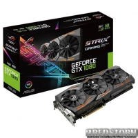 Asus PCI-Ex GeForce GTX 1080 ROG Strix 8GB GDDR5X (256bit) (1670/10010) (DVI, 2 x HDMI, 2 x DisplayPort) (STRIX-GTX1080-A8G-GAMING)
