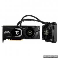MSI PCI-Ex GeForce RTX 2080 Sea Hawk X 8GB GDDR6 (256bit) (1515/14000) (USB Type-C, HDMI, 3 x DisplayPort) (GeForce RTX 2080 Sea Hawk X 8G)
