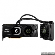 MSI PCI-Ex GeForce RTX 2080 Sea Hawk X 8GB GDDR6 (256bit) (1515/14000) (USB Type-C, HDMI, 3 x DisplayPort) (GeForce RTX 2080 Sea Hawk X 8G)