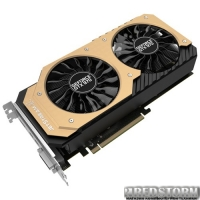 Palit PCI-Ex GeForce GTX 970 JetStream 4096MB GDDR5 (256bit) (1304/7000) (DVI, 2 x mini-DisplayPort, HDMI) (NE5X970H16G2-2043J)