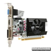MSI PCI-Ex GeForce GT 730 1024MB GDDR5 (64bit) (1006/5000) (VGA, DVI, HDMI) (N730K-1GD5LP/OCV1)