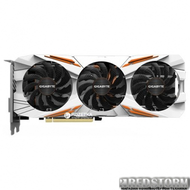 Видеокарта Gigabyte PCI-Ex GeForce GTX 1080 Ti Gaming OC 11GB GDDR5X (352bit) (1518/11010) (DVI, HDMI, 3 x Display Port) (GV-N108TGAMING OC-11GD)
