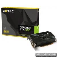 Zotac PCI-Ex GeForce GTX 950 2048MB GDDR5 (128bit) (1089/6610) (HDMI, 2 x DVI, DisplayPort) (ZT-90601-10L)