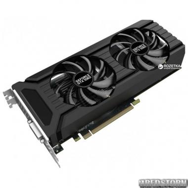 Видеокарта Palit PCI-Ex GeForce GTX 1060 Dual 3GB GDDR5 (192bit) (1506/8000) (DVI, HDMI, 3xDisplayPort) (NE51060015F9-1061D)