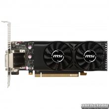 MSI PCI-Ex GeForce GTX 1050 Ti 4GT Low Profile 4GB GDDR5 (128bit) (1290/7008) (DVI, HDMI, DisplayPort) (GTX 1050 TI 4GT LP)