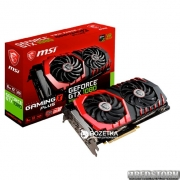 MSI PCI-Ex GeForce GTX 1080 Gaming X+ 8GB GDDR5X (256bit) (1683/11010) (DVI, HDMI, 3 x DisplayPort) (GTX 1080 GAMING X+ 8G)