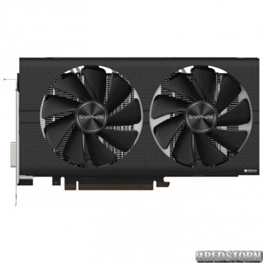 Видеокарта Sapphire PCI-Ex Radeon RX 580 Pulse 8GB GDDR5 (256bit) (1366/8000) (DVI, 2 x HDMI, 2 x DisplayPort) (11265-05-20G)