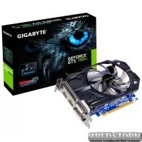 Gigabyte PCI-Ex GeForce GTX 750 Ti 2048MB GDDR5 (128bit) (1020/5400) (2 x DVI, 2 x HDMI) (GV-N75TD5-2GI)