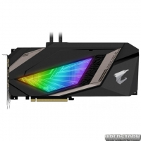 Gigabyte PCI-Ex GeForce RTX 2080 Aorus Xtreme Waterforce 8GB GDDR6 (256bit) (1710/14140) (USB Type-C, 3 x HDMI, 3 x Display Port) (GV-N2080AORUSX W-8GC)