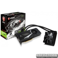 MSI PCI-Ex GeForce GTX 1080 SEA HAWK X 8GB GDDR5X (256bit) (1708/10108) (DVI, HDMI, 3 x DisplayPort) (GTX 1080 SEA HAWK X)