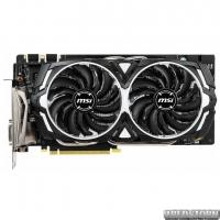 MSI PCI-Ex GeForce GTX 1060 Armor 6GD5X OC 6GB GDDR5X (192bit) (1759/8008) (DVI, HDMI, 3 x DisplayPort) (GTX 1060 ARMOR 6GD5X OC)