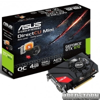Asus PCI-Ex GeForce GTX 970 4GB GDDR5 (256bit) (1051/7010) (2 x DVI, HDMI, DisplayPort) (GTX970-DCM-4GD5)