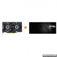 INNO3D PCI-Ex GeForce RTX 2060 TwinX2 6GB GDDR6 (192bit) (1680/14000) (HDMI, 3x DisplayPort) (N20602-06D6-1710VA23) + Игровая поверхность INNO3D iChill в подарок!