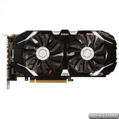 Видеокарта MSI PCI-Ex GeForce GTX 1060 V1 6GB GDDR5 (192bit) (1506/8008) (DVI, HDMI, DisplayPort) (GTX 1060 6GT V1)