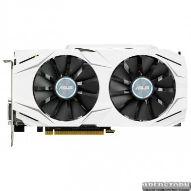 Видеокарта Asus PCI-Ex GeForce GTX 1060 Dual 3GB GDDR5 (192bit) (1506/8008) (DVI, 2 x HDMI, 2 x DisplayPort) (DUAL-GTX1060-3G)