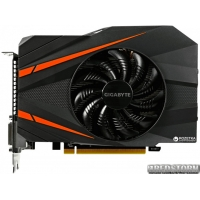 Gigabyte PCI-Ex GeForce GTX 1060 Mini ITX 6GB GDDR5 (192bit) (1506/8008) (2 x DVI, HDMI, Display Port) (GV-N1060IX-6GD)