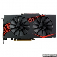 Asus PCI-Ex Radeon RX570 Expedition 4GB GDDR5 (256bit) (1256/7000) (DVI, HDMI, DisplayPort) (EX-RX570-O4G)