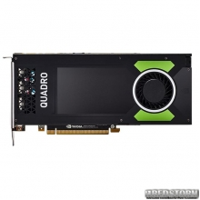 PNY PCI-Ex NVIDIA Quadro P4000 8GB GDDR5 (256bit) (1202/7604) (4 x DisplayPort) (VCQP4000-BSP)
