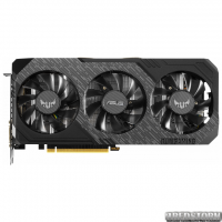 Asus PCI-Ex GeForce GTX 1660 Ti TUF Gaming X3 OC 6GB GDDR6 (192bit) (1530/12002) (DVI, HDMI, DisplayPort) (TUF3-GTX1660TI-O6G-GAMING)
