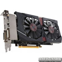 Asus PCI-Ex Radeon R7 370 Strix 2GB GDDR5 (256bit) (1050/5600) (2xDVI, HDMI, DisplayPort) (STRIX-R7370-DC2OC-2GD5-GAMING)