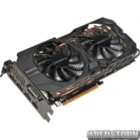Gigabyte PCI-Ex Radeon R9 390 WindForce 2X 8192MB GDDR5 (512bit) (1025/6000) (DVI, HDMI, 3 x DisplayPort) (GV-R939G1 GAMING-8GD)