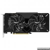 Palit PCI-Ex GeForce GTX 1660 Dual OC 6GB GDDR5 (192bit) (1530/8000) (DVI, HDMI, DisplayPort) (NE51660S18J9-1161A)