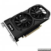 Palit PCI-Ex GeForce GTX 1050 Ti Dual 4GB GDDR5 (128bit) (1366/7000) (DVI, HDMI, DisplayPort) (NE5105T018G1-1071D)