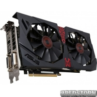 Asus PCI-Ex Radeon R9 380 Strix 4GB GDDR5 (256bit) (1010/5700) (2x DVI, HDMI, DisplayPort) (STRIX-R9380-DC2OC-4GD5-GAMING)