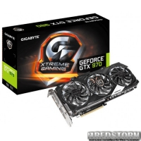 Gigabyte PCI-Ex GeForce GTX 970 4096MB GDDR5 (256bit) (1190/7100) (DVI, HDMI, 3 x Display Port) (GV-N970XTREME-4GD)
