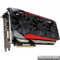 Asus PCI-Ex Radeon R9 390 Strix 8192MB GDDR5 (512bit) (1050/6000) (DVI, HDMI, 3 x DisplayPort) (STRIX-R9390-DC3OC-8GD5-GAMING)