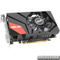 Asus PCI-Ex GeForce GTX 950 Mini 2048MB GDDR5 (128bit) (1026/6610) (DVI, HDMI, DisplayPort) (MINI-GTX950-2G)