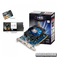 HIS PCI-Ex Radeon HD7730 iCooler 1024MB GDDR5 (128bit) (800/4500) (DVI, HDMI, VGA) (H773F1G)