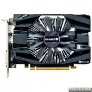 INNO3D PCI-Ex GeForce GTX1060 Compact 6GB GDDR5 (192bit) (1506/8000) (DVI, HDMI, DisplayPort) (N1060-6DDN-N5GM)