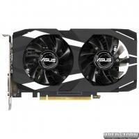 Asus PCI-Ex GeForce GTX 1650 Dual O4G OC 4GB GDDR5 (128bit) (1485/8002) (DVI, HDMI, DisplayPort) (DUAL-GTX1650-O4G)