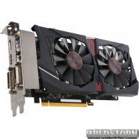 Asus PCI-Ex Radeon R7 370 Strix 4GB GDDR5 (256bit) (1050/5600) (2xDVI, HDMI, DisplayPort) (STRIX-R7370-DC2OC-4GD5-GAMING)