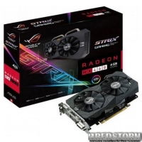 Asus PCI-Ex Radeon RX460 ROG Strix 4GB GDDR5 (128bit) (1200/7000) (DVI, HDMI, DisplayPort) (STRIX-RX460-4G-GAMING)