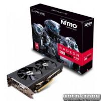 Sapphire PCI-Ex Radeon RX 480 Nitro+ OC 8GB GDDR5 (256bit) (1208/8000) (DVI, 2 x HDMI, 2 x DisplayPort) (11260-01-20G)