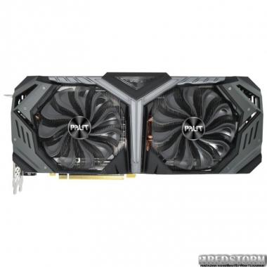 Видеокарта Palit PCI-Ex GeForce RTX 2070 Super GameRock 8GB GDDR6 (256bit) (1605/14000) (1 x USB Type-C, 1 x HDMI, 3 x Display Port) (NE6207S020P2-1040G)