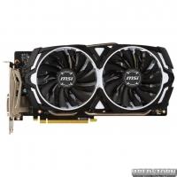 MSI PCI-Ex GeForce GTX 1060 Armor OCV1 6GB GDDR5 (192bit) (1544/8008) (DVI, 2 x HDMI, 2 x DisplayPort) (GTX 1060 ARMOR 6G OCV1)