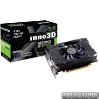 Inno3D PCI-Ex GeForce GTX1060 Compact 6GB GDDR5 (192bit) (1506/8000) (DVI, HDMI, 3 x DisplayPort) (N1060-2DDN-N5GN)