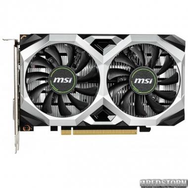 Видеокарта MSI PCI-Ex GeForce GTX 1650 Ventus XS 4G OC 4GB GDDR5 (128bit) (1740/8000) (1 x DisplayPort, 1 x HDMI, 1 x DVI) (GeForce GTX 1650 VENTUS XS 4G OC)