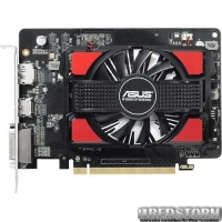 Asus PCI-Ex Radeon R7 250 2GB GDDR5 (128bit) (725/4500) (DVI, HDMI, DisplayPort) (R7250-2GD5)