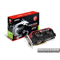 MSI PCI-Ex GeForce GTX 750 Ti TF 2048MB GDDR5 (128bit) (1020/5400) (DVI, HDMI, VGA) (N750Ti TF 2GD5/OC)