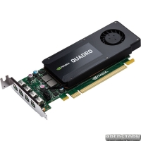 PNY PCI-Ex NVIDIA Quadro K1200 4GB GDDR5 (128bit) (4 x Mini-DisplayPort) (VCQK1200DP-PB)
