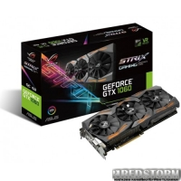 Asus PCI-Ex GeForce GTX 1060 ROG Strix 6GB GDDR5 (192bit) (1620/8208) (DVI, 2 x HDMI, 2 x DisplayPort) (STRIX-GTX1060-O6G-GAMING)