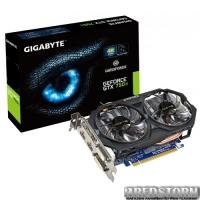 Gigabyte PCI-Ex GeForce GTX 750 Ti 2048MB DDR5 (128bit) (1111/5400) (2 x DVI, 2 x HDMI) (GV-N75TOC-2GI)