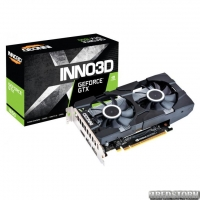 INNO3D PCI-Ex GeForce GTX 1650 Twin X2 OC 4GB GDDR5 (128bit) (1770/8000) (HDMI, 2x DisplayPort) (N16502-04D5X-1510VA25)